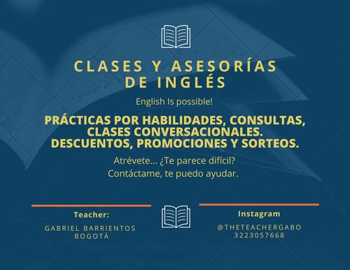 clases personalizadas de inglés. clases sencillas, sin mitos
