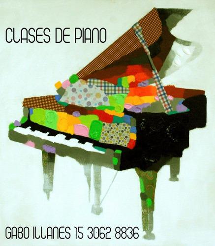 clases piano y música caballito flores floresta paternal