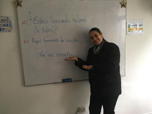 clases privadas de inglés a domicilio u oficina