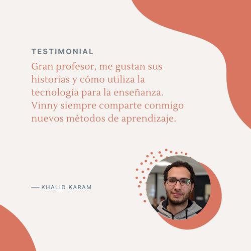 clases privadas de inglés - tutor bilingüe experto