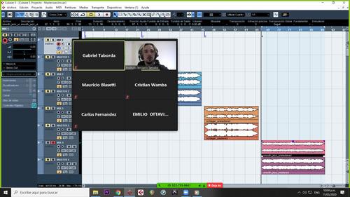 clases pro tools, cubase y reaper - a distancia -