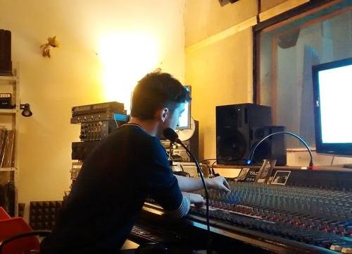 clases producción musical, grabación, mezcla, mastering...