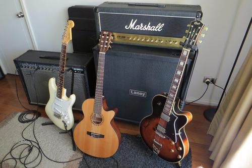 clases profesionales de guitarra eléctrica. santiago centro.