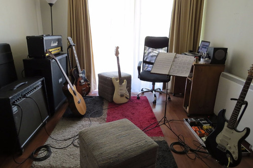 clases profesionales guitarra eléctrica. santiago centro.