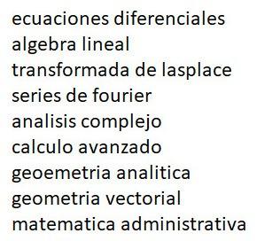 clases profesor matematica fisica quimica