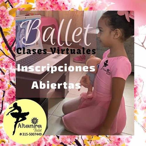 clases virtuales de ballet para niñas