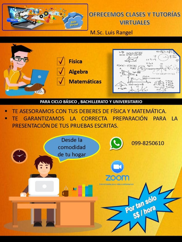clases virtuales de física y matemáticas