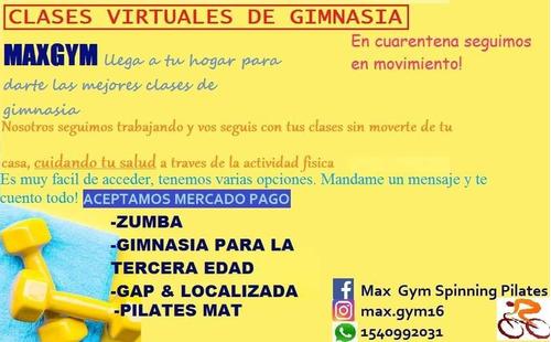clases virtuales de gimnasia