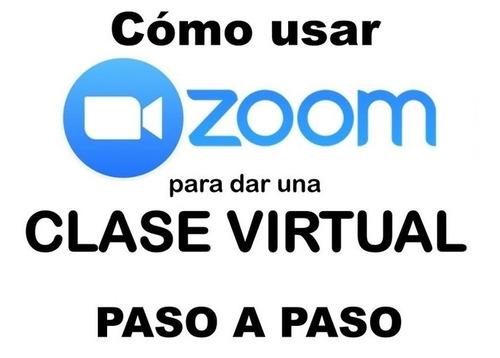 clases  virtuales de zoom