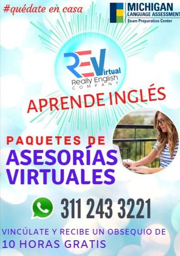 clases virtuales y presenciales de inglés