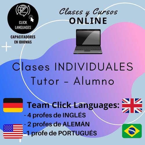 clases y cursos de inglés, portugués y alemán