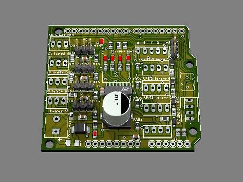 clases y desarrollos de proyectos con  arduino (pcb)