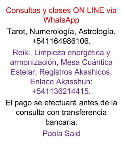 clases y terapias, tarot, astrologia, constelaciones, flores