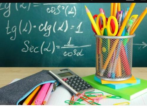 clases y trabajos de matemáticas y fisica