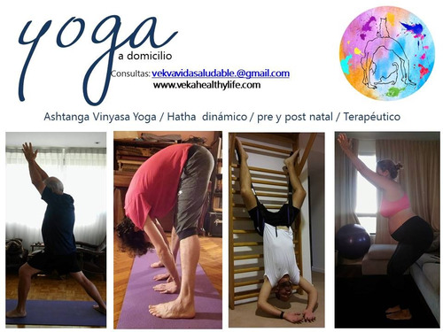 clases yoga, stretching, pilates a domicilio/ terapia manual