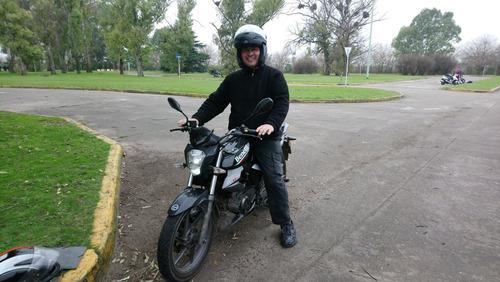 clases,curso manejo motos,alquiler examen vicente lopez