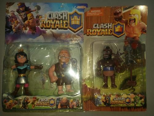 clash royal pack 3 figuras nuevo y sellado