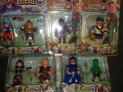 clash royal ultimo lote x8 personajes. envio gratis sellados