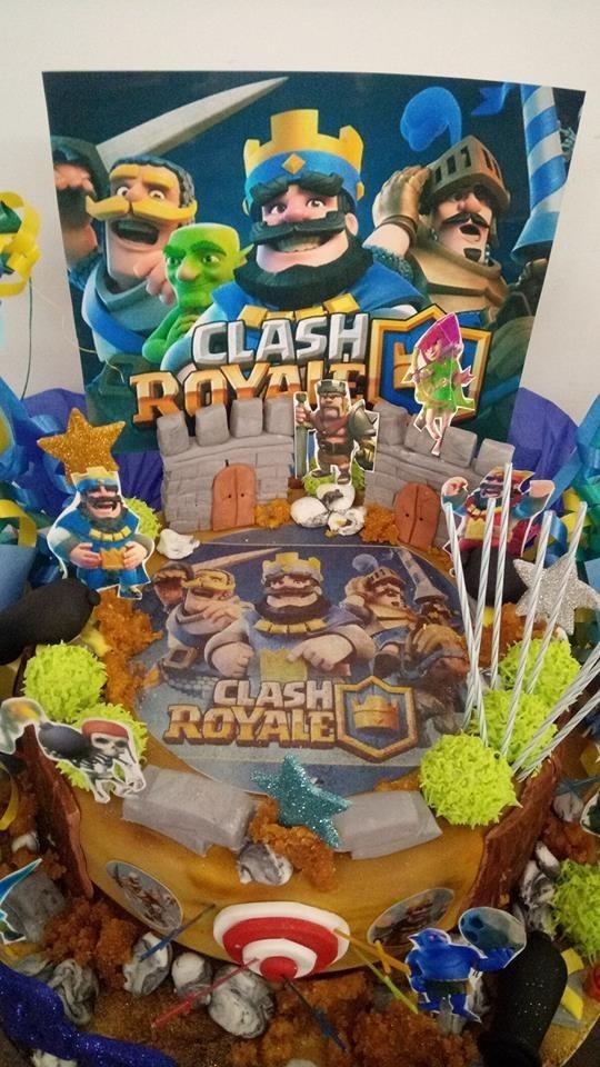 Clash Royale Candy Bar Imprimible 2x1 + Kit Para Deco Torta - $ 19 ...