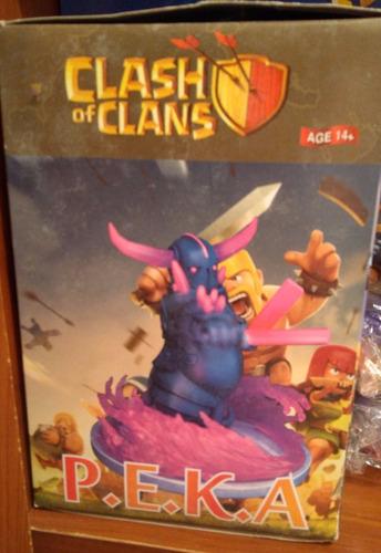 clash royale clash of clans figura de pekka 16 cm