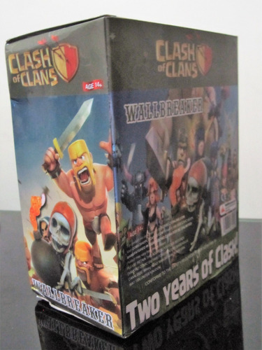 clash royale clash of clans figura el bombardero