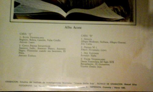 clasica, alba acone piano, composit venezolanos contemporane
