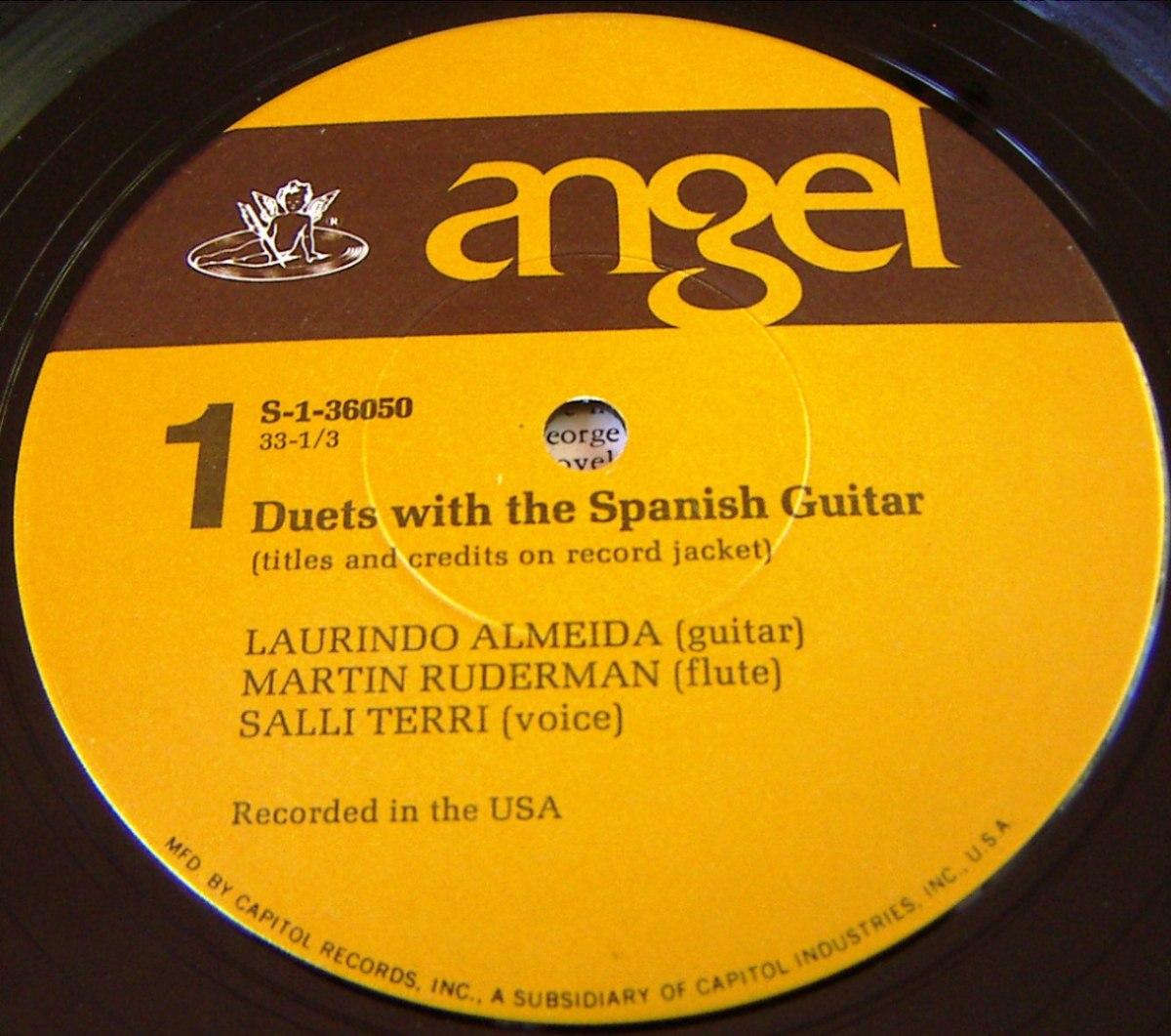 Laurindo Almeida - The Spanish Guitars Of Laurindo Almeida