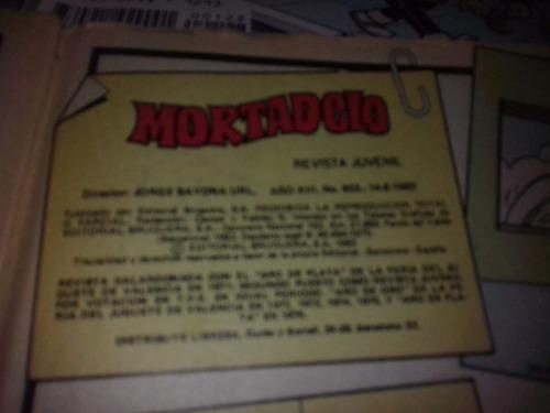 clasica revista mortadelo num 603 ,bruguera ,junio de 1982