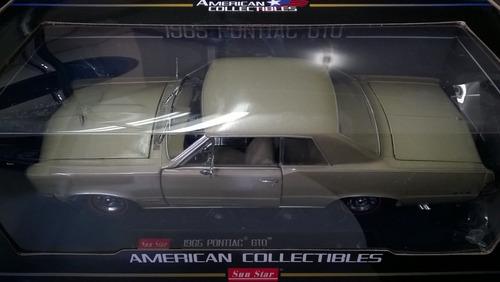 clasico americano, pontiac gto 1965 a  escala 1/18