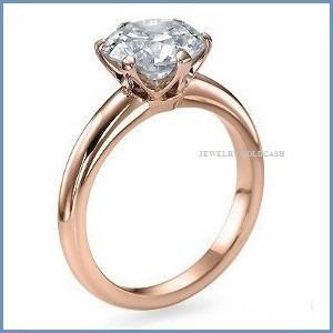 clásico anillo de compromiso oro amarillo 10k envio gratis