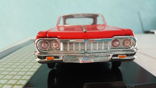 clasico escala 1/24  1964 chevrolet impala de colletion