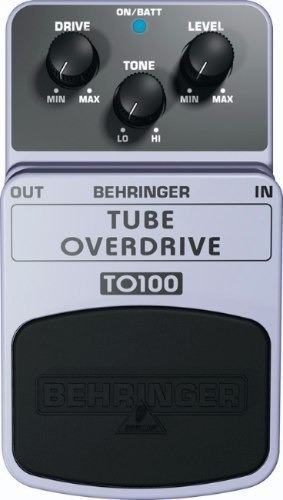 clasico pedal behringer tube overdrive to100