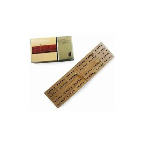 clásico viaje de madera plegable cribbage juego de mesa u...