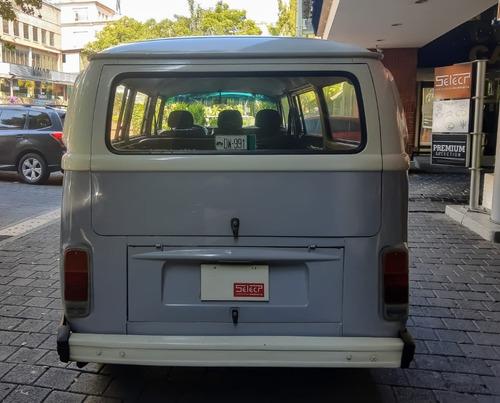 clásico volkswagen combi, 1983