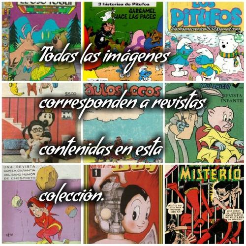 clasicos de la infancia ochentera 500 antiguas revistas.