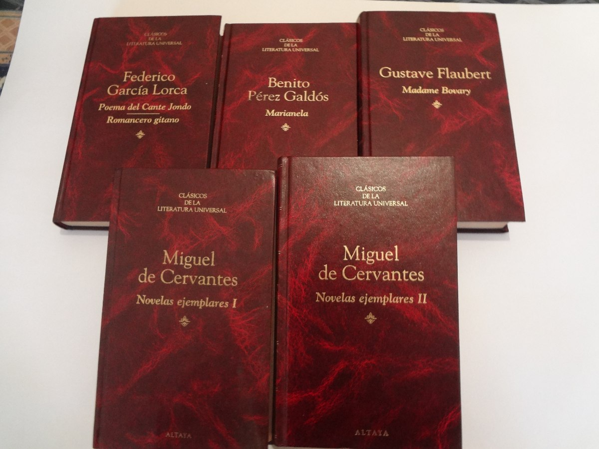 Clasicos De La Literatura Universal ,lote 5 Novelas - $ 250 ...