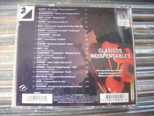clásicos indispensables vol 2 cd en muy buen estado