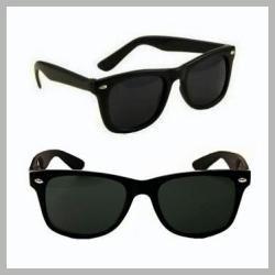 clasicos lentes de sol en color negro mica obscura vbf