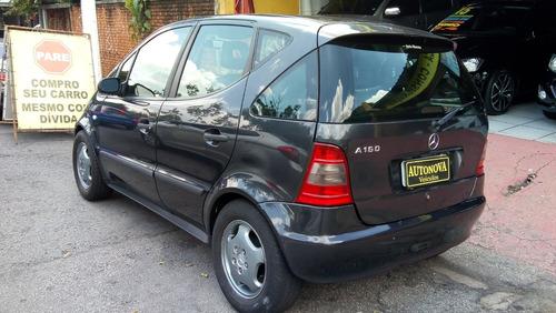 classe a 160 manual 2002  couro rodas pneus ok  revisada !!