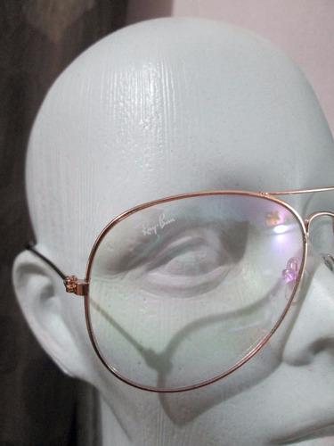 classic aviator metal clear lens uv con envio gratis y msi