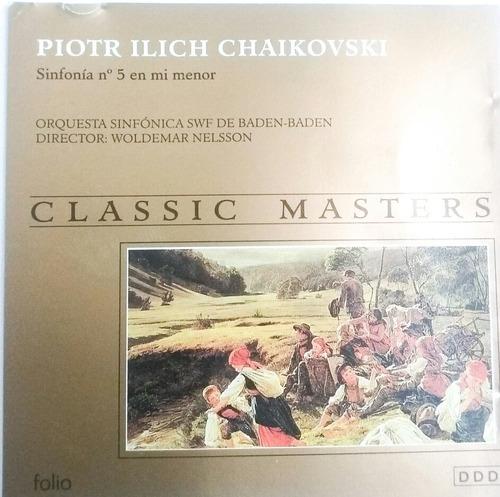 classic masters piotr ilich chaikovski sinfonía #5  mi menor