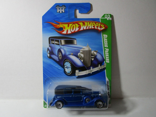 classic packard th regular 2009 hot wheels g1 c1
