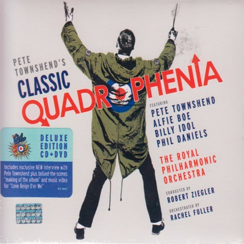 classic quadrophenia pete townshend disco cd + dvd