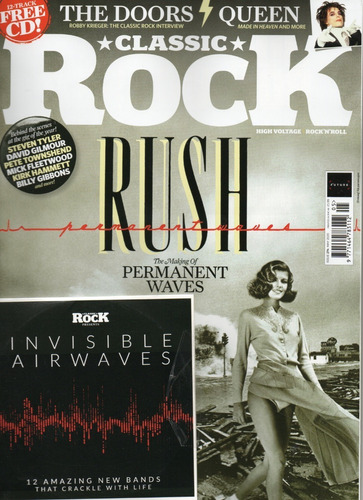 classic rock revista avulsa- rush permanent waves