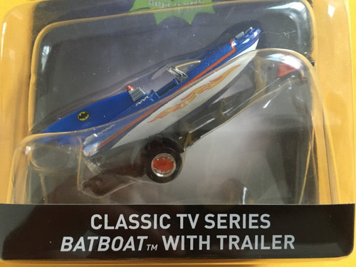 classic tv series batboat with trailer 1/50