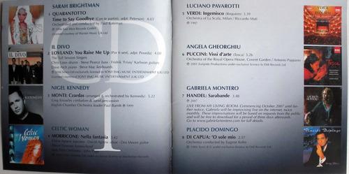 classical 2008- nigel kennedy- sarah brightman- 2cd promo
