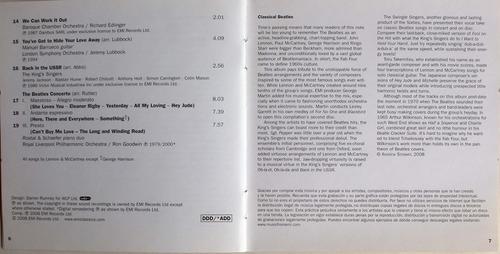 classical beatles - manuel barrueco guitarra - 2 cdpromo nac