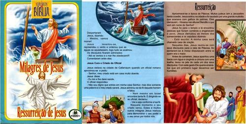 clássicos da bíblia - 2 livretos para crianças