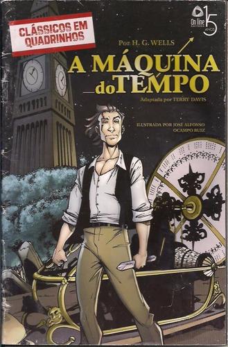 clássicos em quadrinhos - a máquina do tempo