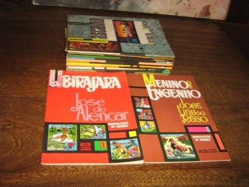 clássicos ilustrados 13 edições quadrinização ano 1965 ebal